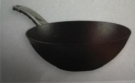 Titanový wok 30 cm s poklicí BAF Gigant new line Indukce