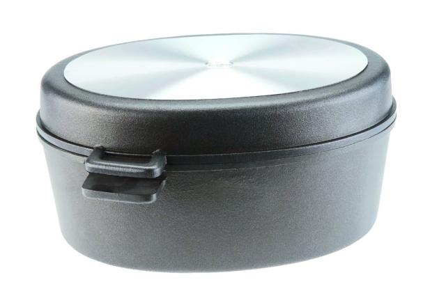 Titanový pekáč s grilovacím víkem 41x29 cm hloubka 20 cm SKK Titan Durit Resist